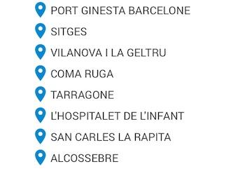 Liste port barcelone alcossebre