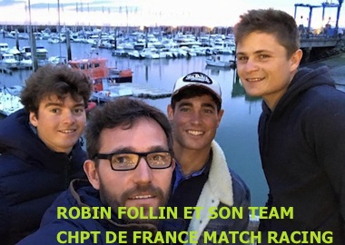 MATCH RACING FOLLIN CHPT DE FRANCE